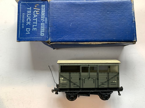 32020 GWR D1 CATTLE TRUCK 106324 BOXED 8/1952