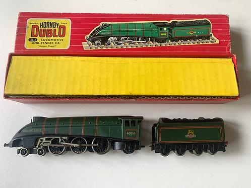 2211 2-RAIL BR GREEN A4 CLASS GOLDEN FLEECE LOCOMOTIVE 60030 & TENDE