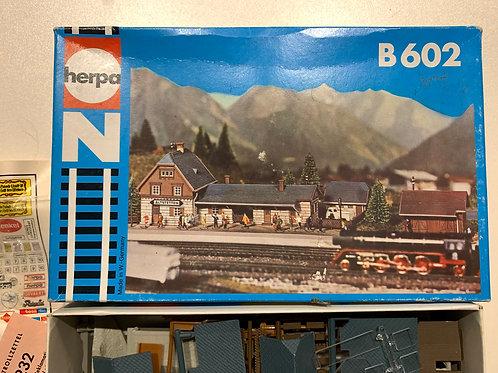 HERPA N GAUGE - B602 STATION