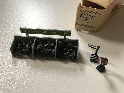 WARDIE MASTER MODELS No 65 - CHARRINGTON COAL BUNKER SET - BOXED