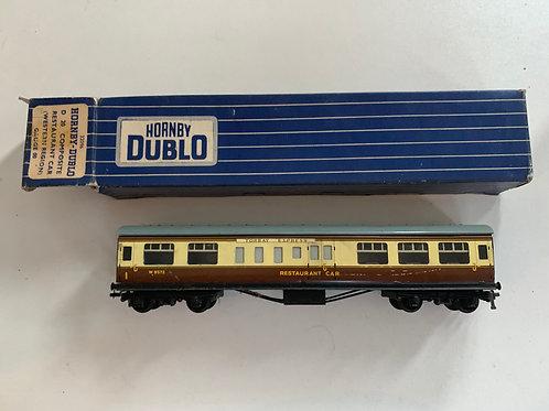 32096 D20 COMPOSITE RESTAURANT CAR W.R. W9572 - 2 or 3 RAIL - TORBAY EXPRESS