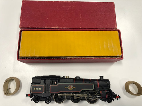 2218 2-6-4 BR BLACK TANK LOCOMOTIVE 80033 - BOXED