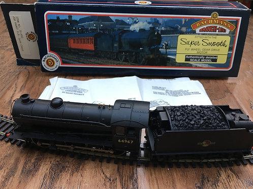 31-852 J39 64967 BR BLACK L/CREST LOCO & TENDER