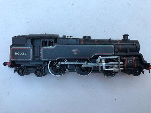 2218 2-6-4 BR BLACK TANK LOCOMOTIVE 80033