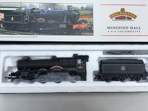 31-775 MODIFIED HALL 6990 WITHERSLACK HALL BR LINED BLACK E/EMBLEM LOCO & TENDER