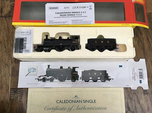 R.2683 LMS 4-2-2 CALEDONIAN SINGLE LOCO No 14010