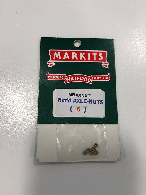 MARKITS MRAXNUT - ROMFORD AXLE-NUTS (6)