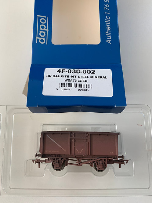 4F-030-002 16T STEEL MINERAL WAGON - BR BAUXITE WEATHERED