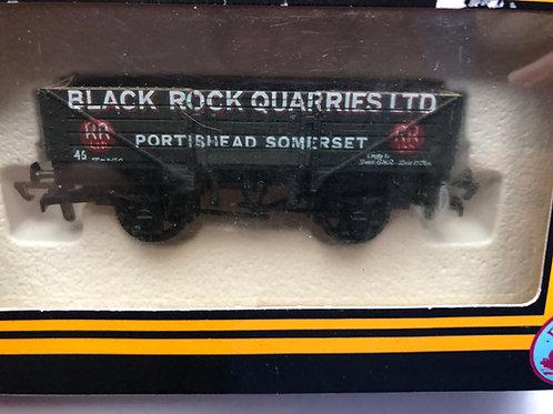 B46 - 5 PLANK WAGON BLACK ROCK QUARIES PORTISHEAD SOMERSET