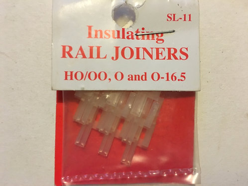 SL-11 INSULATING RAIL JOINERS (HO / OO / O GAUGE)