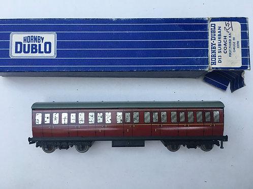 32090 D13 B.R. MAROON SUBURBAN COACH 1ST / 3RD BOXED