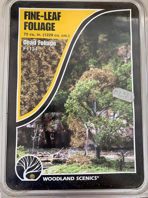 WOODLAND SCENICS F1134 FINE-LEAF FOLIAGE - DEAD FOLIAGE