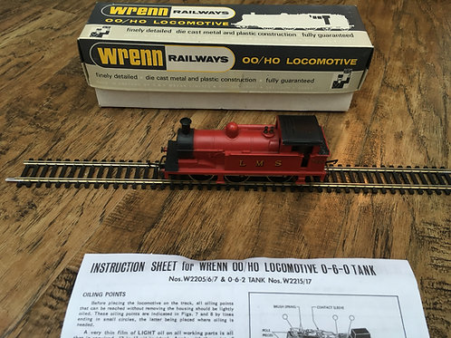 W2204 0-6-0T LMS 7420 RED R1 TANK LOCO - BOXED