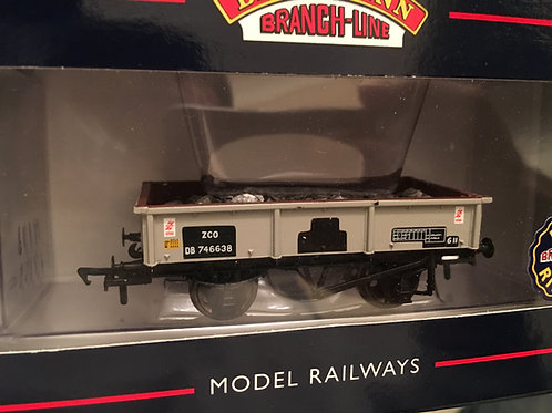 37-354 13 TON STEEL SAND TIPPLER WAGON BR GREY