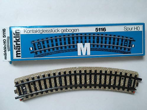 MARKLIN M 5116 CURVED EXTENSION TRACK