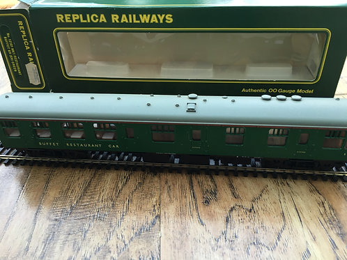 12101 MK1 RESTAURANT BUFFET CAR SR GREEN S1717
