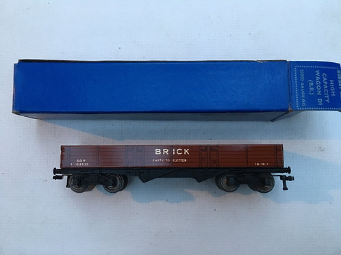 32050 D1 HIGH CAPACITY BRICK WAGON (B.R.) 10/1953