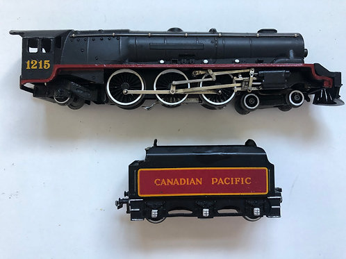 EDL2 CANADIAN PACIFIC 1215 LOCOMOTIVE & TENDER