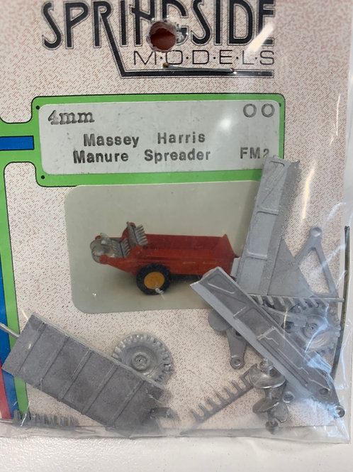 SPRINGSIDE MODELS - FM 2 MASSEY HARRIS MANURE SPREADER