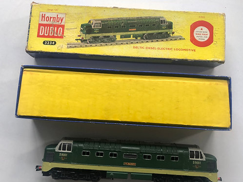 3234 DELTIC DIESEL ELECTRIC LOCOMOTIVE ST PADDY D9001 BOXED