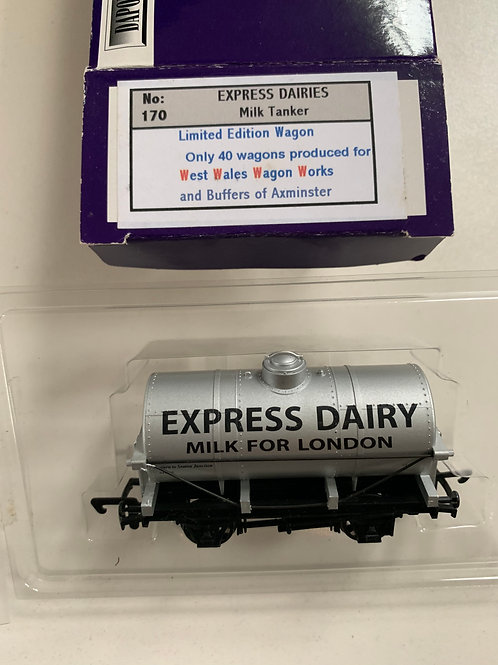 EXPRESS DAIRY TANKER WAGON - LIMITED EDITION of 40