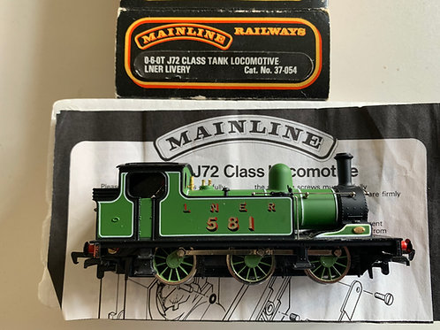 37-054 0-6-0T J72 CLASS TANK LOCOMOTIVE LNER LIVERY