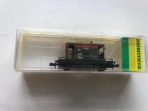 13630 BR 20T RAILFREIGHT BRAKE VAN