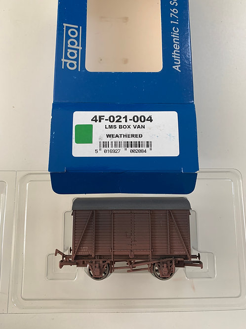 4F-021-004 LMS BOX VAN WEATHERED