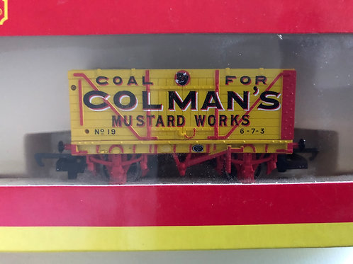 R.6345 END TIPPING WAGON COLMANS No 19