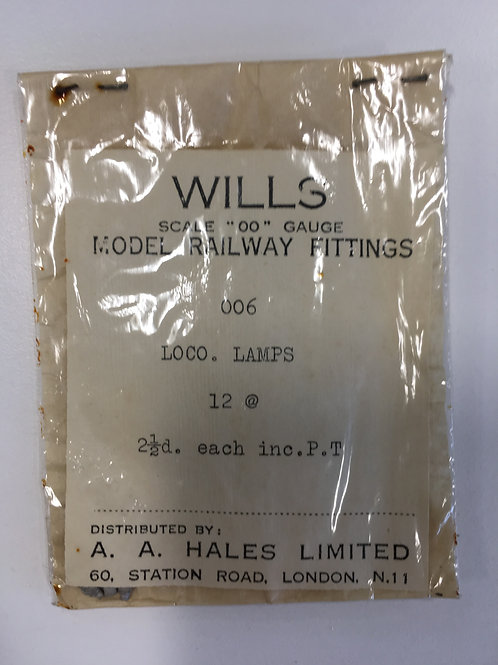 WILLS - 006 LOCO LAMPS (12)