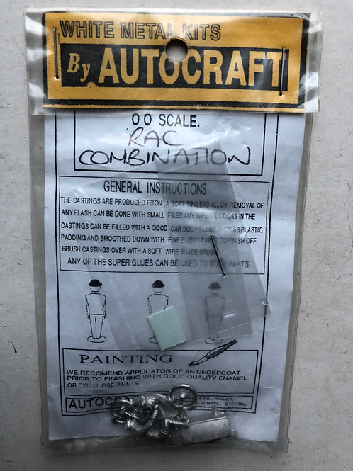 AUTOCRAFT WHITE METAL KITS - RAC COMBINATION