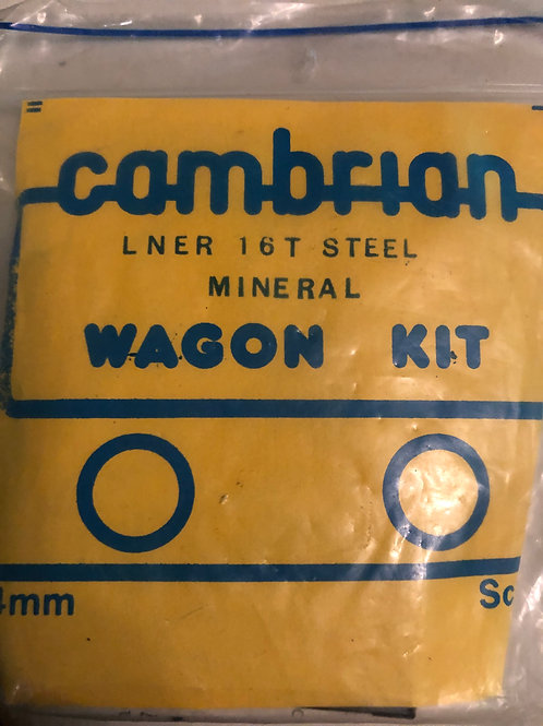 CAMBRIAN LNER 16 TON STEEL MINERAL WAGON