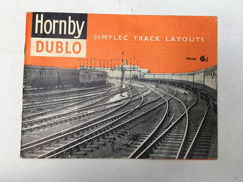 HORNBY DUBLO - SIMPLEC RAIL LAYOUTS