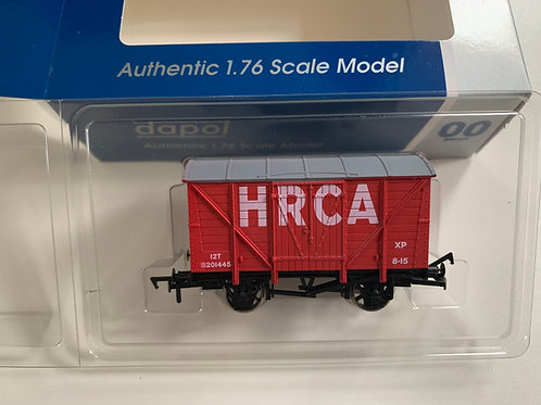 HRCA RED VENT VAN - LIMITED EDITION H.R.C.A.