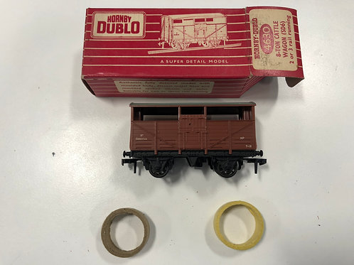 4630 CATTLE WAGON (plastic coupling) - BOXED