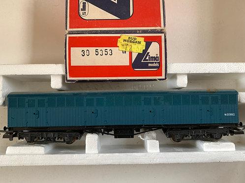 305353W PARCEL GOODS VAN/WAGON BLUE W2982