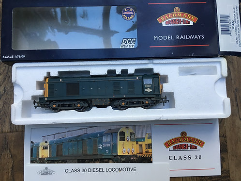 32-032 CLASS 20 DIESEL D8307 BR BLUE - WEATHERED INDICATOR BOX