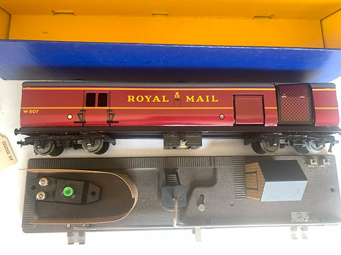 2400 T.P.O. MAIL VAN SET 2 RAIL