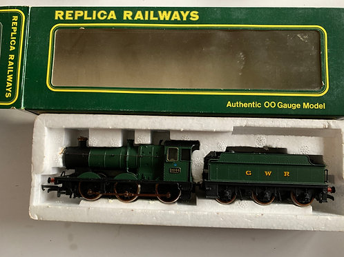 11041 COLLETT GOODS GWR GREEN WITH MANOR TENDOR