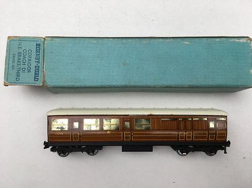32011 LNER TEAK BRAKE / 3RD 45402 BOXED 1/1949
