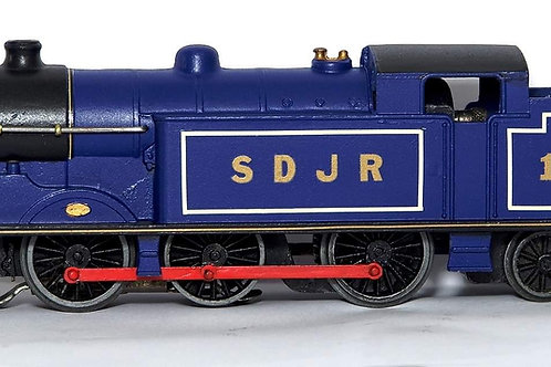EDL7 3-RAIL RED ROD SPECIAL EDITION SDJR BLUE 0-6-2 TANK LOCOMOTIVE 19