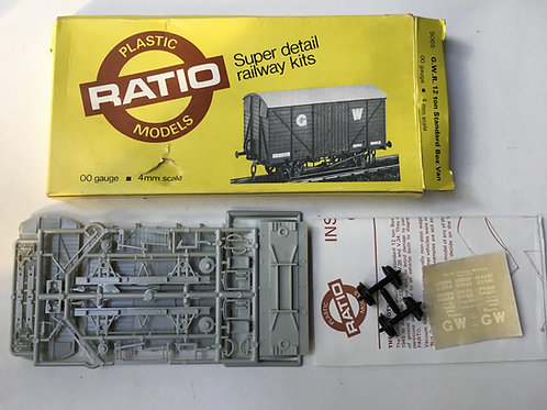 RATIO 5065 GWR 12 TON STANDARD BOX VAN