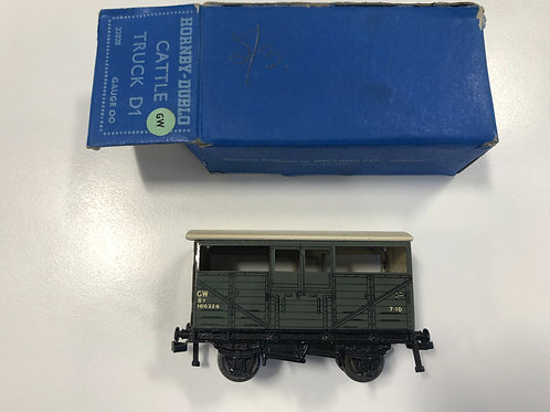 32020 GWR D1 CATTLE TRUCK 106324 BOXED
