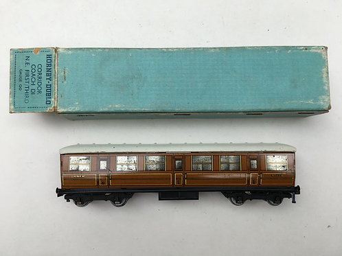 32010 LNER TEAK 1ST / 3RD COACH 42759 BOXED 1/1949