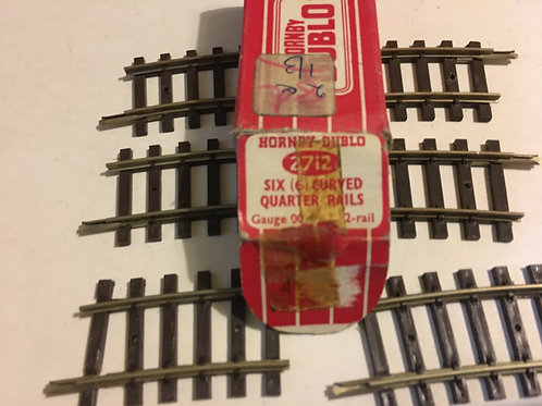 2712 6 x CURVED QUARTER RAILS BOXED