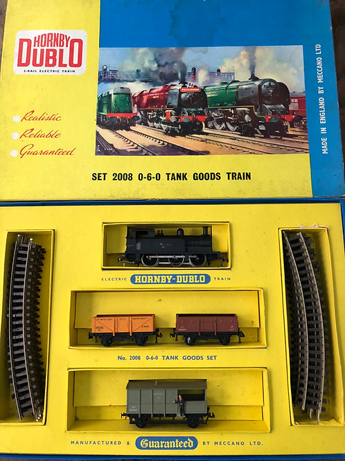 2008 0-6-0 TANK GOODS TRAIN SET