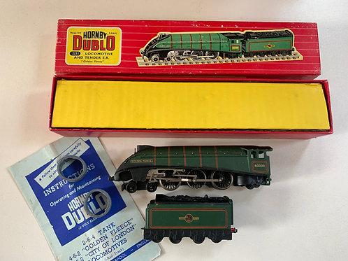 2211 2-RAIL BR GREEN A4 CLASS GOLDEN FLEECE LOCOMOTIVE 60030 & TENDER