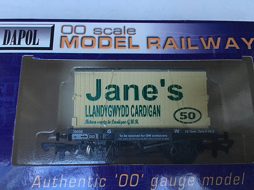 GW CONFLAT 39050 WITH JANE'S OF CARDIGAN CONTAINER
