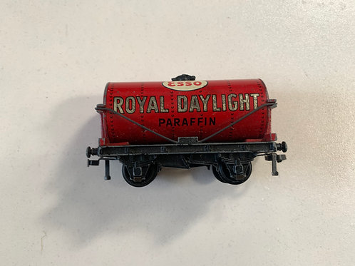 32070 OIL TANK WAGON ROYAL DAYLIGHT UNBOXED - 2 OR 3 RAIL