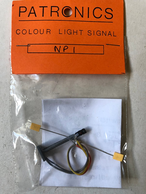 PATRONICS N GAUGE - NP1 COLOUR LIGHT SIGNAL